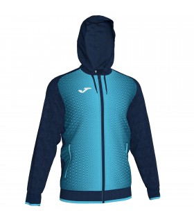 Joma Hooded Jacket Supernova Navy-Turquoise