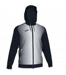 Joma Hooded Jacket Supernova Black-White