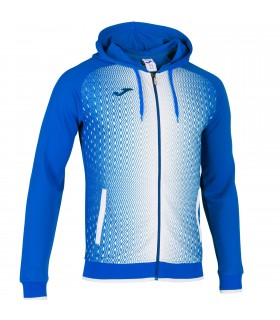 Joma Hooded Jacket Supernova Royal-White