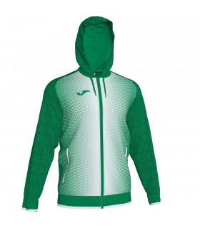 Joma Hooded Jacket Supernova Green-White
