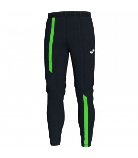 Joma Long Trousers Supernova Black-FluoGreen