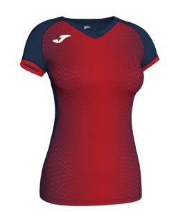 Joma Ladies Shirt Supernova Navy-Red