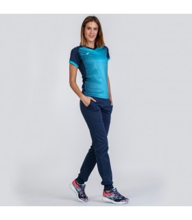 Joma Ladies Shirt Supernova Navy-Turquoise