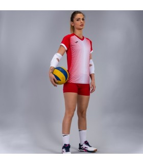 Joma Ladies Shirt Supernova Red-White