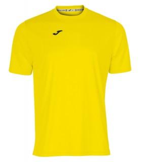 Joma T-Shirt Combi KM Geel