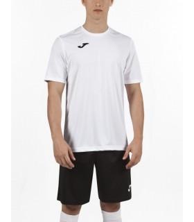 Joma T-Shirt Combi KM Wit