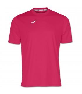 Joma T-Shirt Combi KM Fucsia