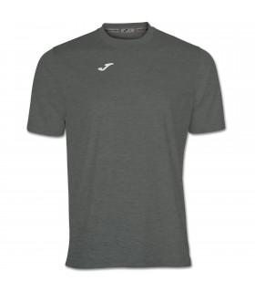 Joma T-Shirt Combi MC Gris Foncé