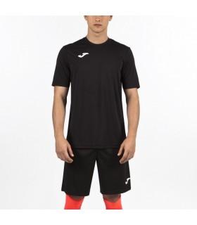 Joma T-Shirt Combi KM Zwart