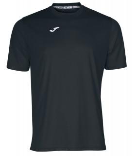 Joma T-Shirt Combi MC Noir