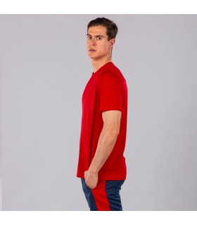 Joma T-Shirt Combi MC Rouge