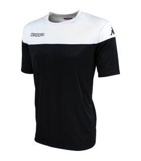 SHIRT KAPPA MARETO BLACK - WHITE