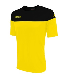 SHIRT KAPPA MARETO YELLOW - BLACK