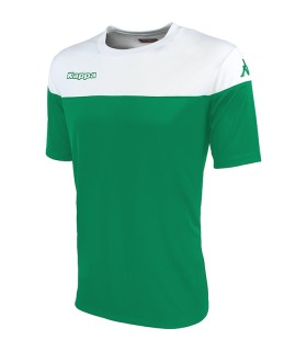 Maillot Kappa Mareto Vert - Blanc