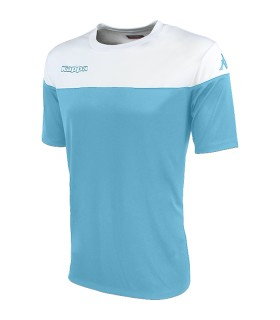 SHIRT KAPPA MARETO BLUE LIGHT - WHITE