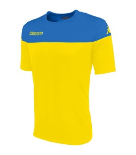 SHIRT KAPPA MARETO YELLOW - BLEU NAUTIC