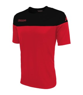 SHIRT KAPPA MARETO RED - BLACK
