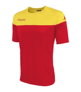 SHIRT KAPPA MARETO RED - YELLOW