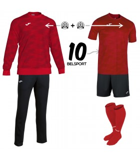 Pack Grafity Sweat rood