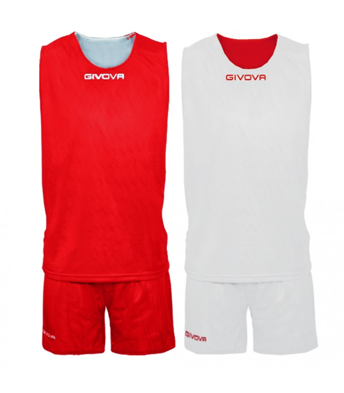Kit Basket Givova Double Zwart Wit