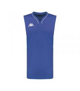 Kappa Maillot Basket Cairo Bleu Nautique / Blanc