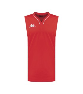 Kappa Basket Shirt Cairo Red / White