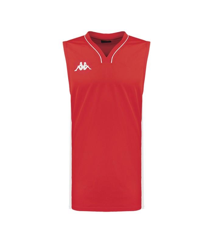 Kappa Maillot Basket Cairo Rouge / Blanc
