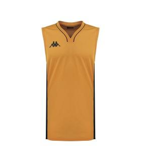 Kappa Maillot Basket Cairo Orange / Noir