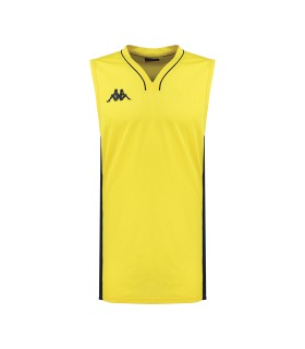 Kappa Basket Shirt Cairo Yellow / Black