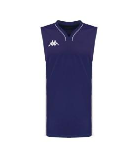 Kappa Maillot Basket Cairo Marine / Blanc