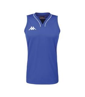 Kappa Basket Trui Caira Dame Blauw Nautic / Wit