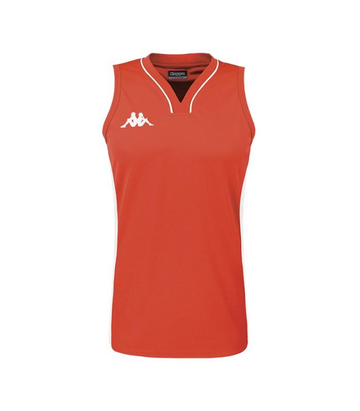 Kappa Basket Shirt Caira Woman  Red / White