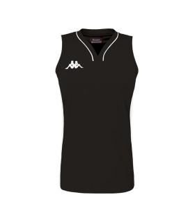 Kappa Basket Shirt Caira Woman  Black / White