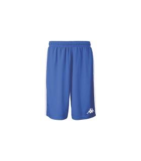 Kappa Short Basket Caluso Bleu Nautic / Blanc