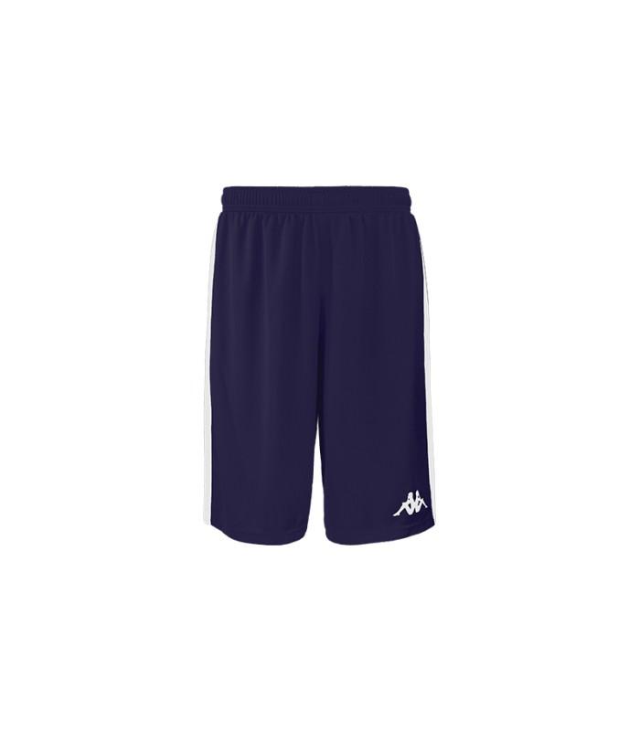 Kappa Basket Short Caluso Blauw Navy / Wit
