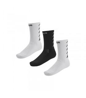 Chaussettes Basket Kappa Eleno x3 Paires Blanc/Blanc/Noir