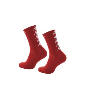 Chaussettes Basket Kappa Eleno x3 Paires Rouge