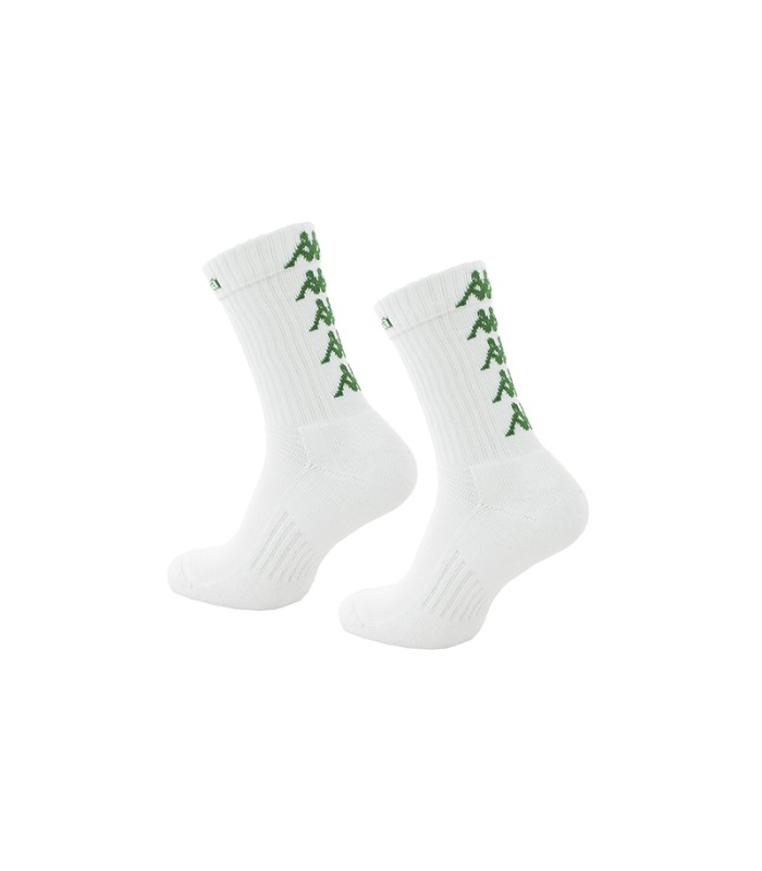 Socks Basket Kappa Eleno x3 Pairs White/Green
