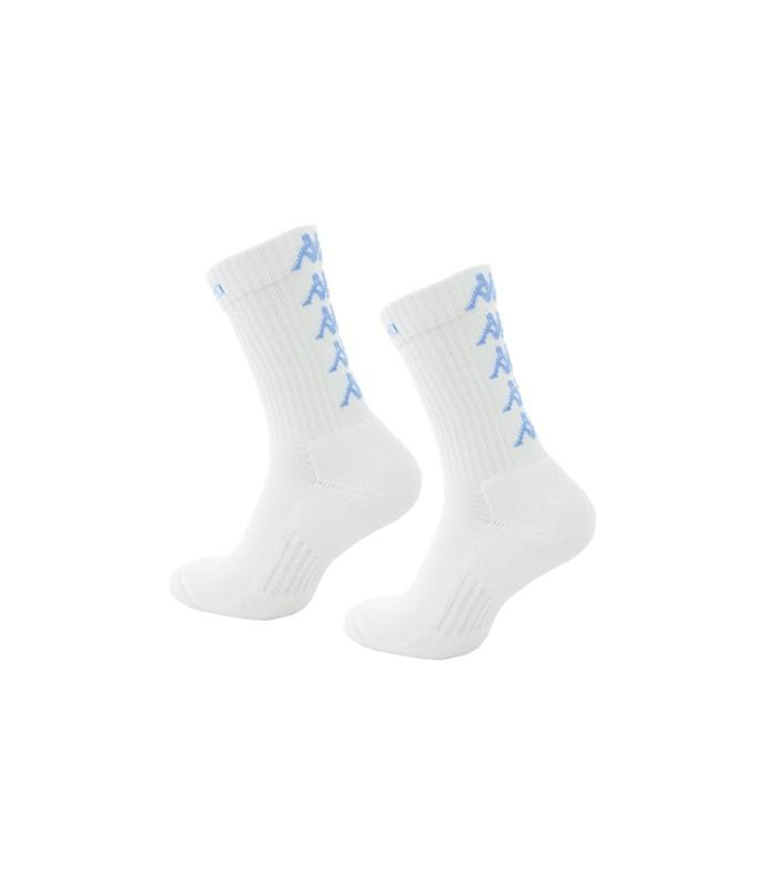 Chaussettes Basket Kappa Eleno x3 Paires Blanc/Bleu