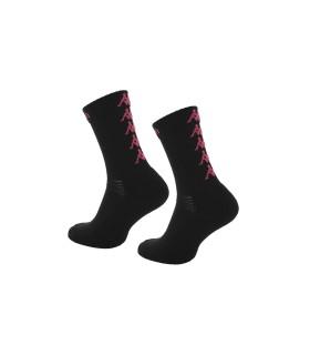Socks Basket Kappa Eleno x3 Pairs Black/Fuchsia