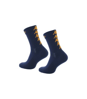 Socks Basket Kappa Eleno x3 Pairs Navy/Orange
