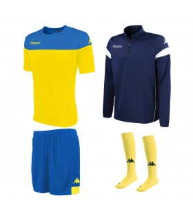Pack Kappa Mareto Yellow-Royal-Navy