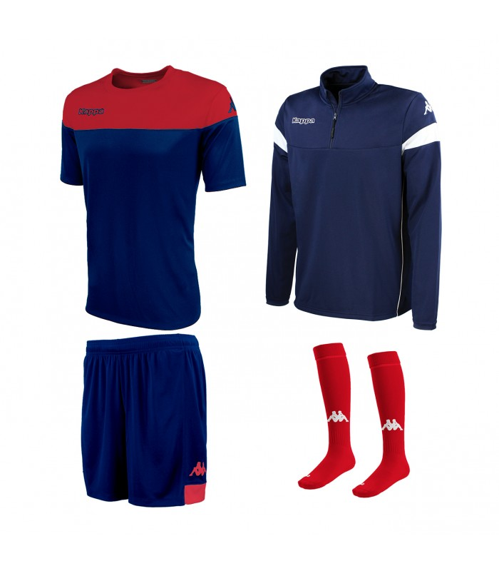 Pack Kappa Mareto Navy-Red