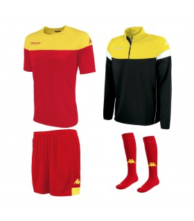 Pack Kappa Mareto Red-Yellow-Black