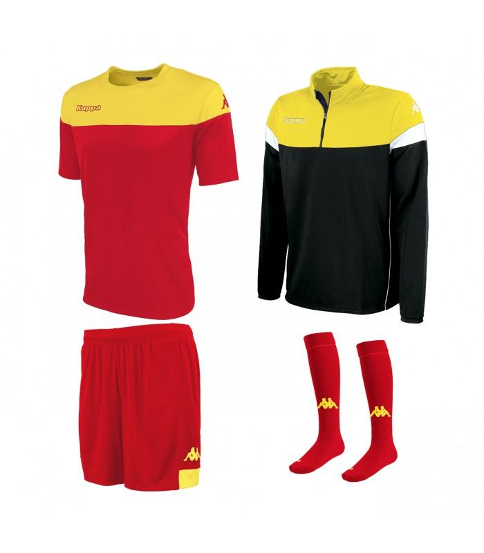 Pack Kappa Mareto Red-Yellow-Black