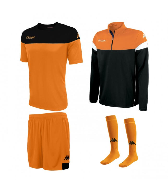 Pack Kappa Mareto Orange-Noir