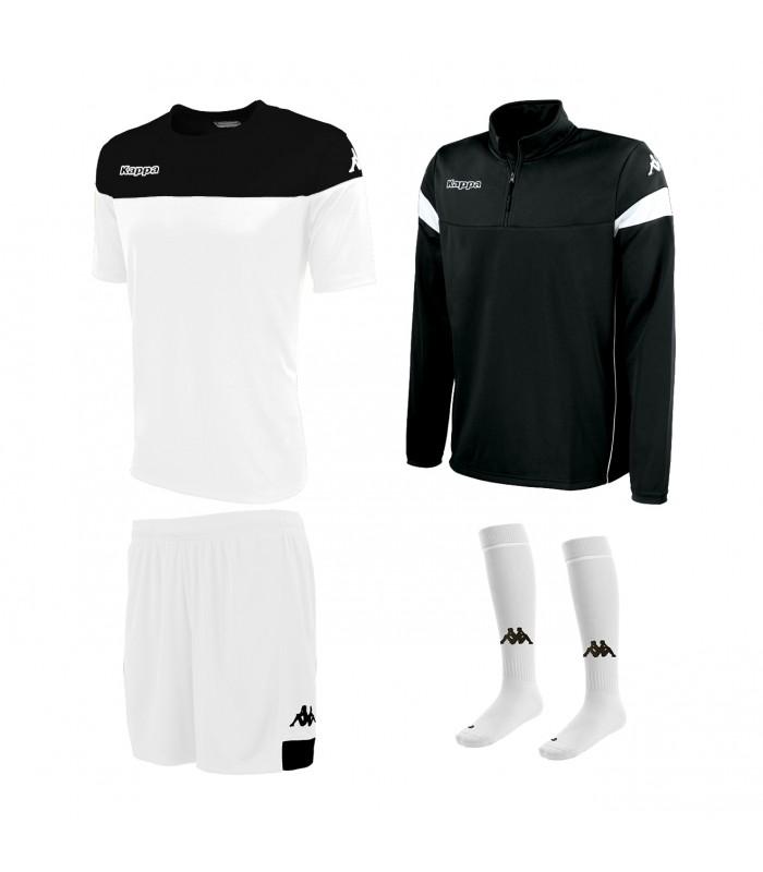 Pack Kappa Mareto White-Black