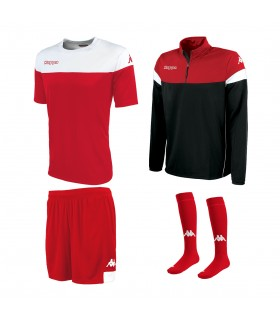 Pack Kappa Mareto Red-White-Black