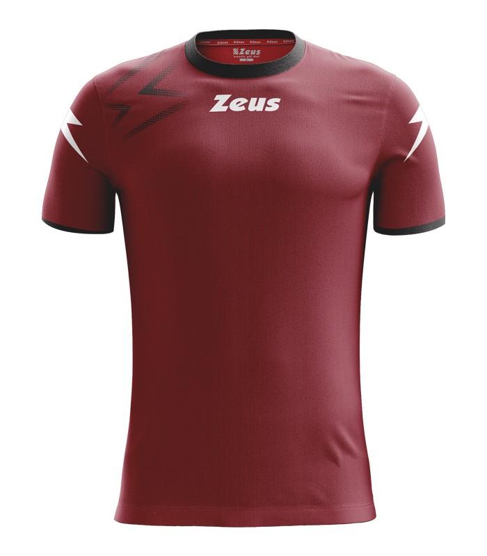 10 x Zeus Shirt Mida Bordeau - Black