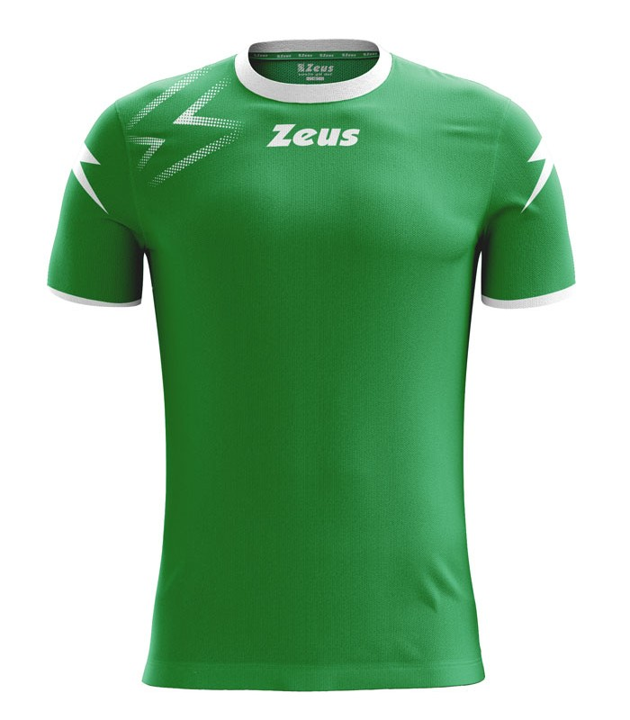 10 x Zeus Shirt Mida Green - White